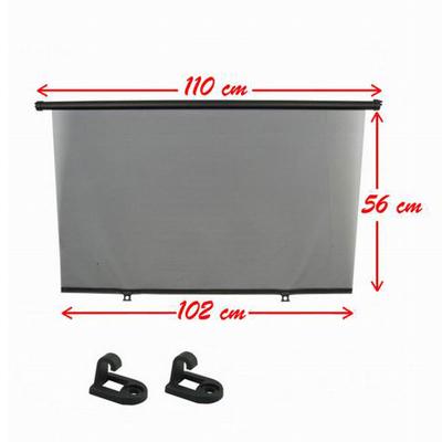 sonnenschutzrollo heckscheibe 110cm auto sonnenschutz heck. Black Bedroom Furniture Sets. Home Design Ideas